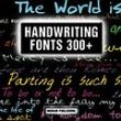 Handwriting Fonts 300